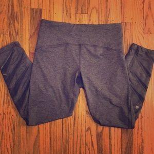 Lululemon gray high rise leggings